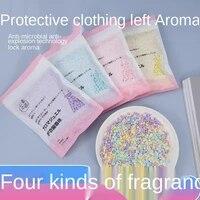120gbag clothing leaving fragrance beads for long lasting fragrance clothing perfume laundry powder companion