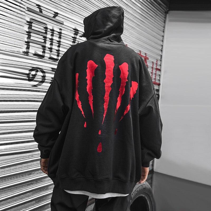 ¡Moda Otoño-Invierno 2019! Sudaderas con capucha para hombre, estilo Hip Hop, Otoño-Invierno, 2019