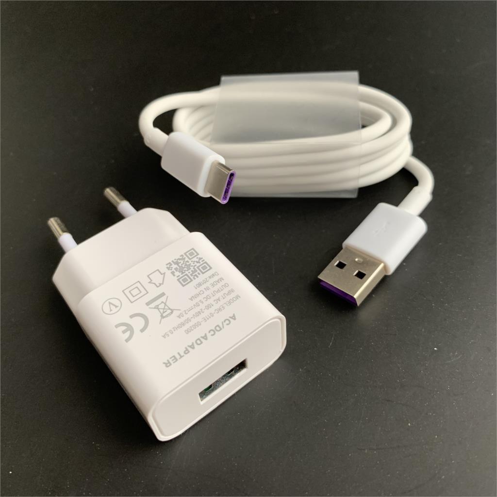 Für Huawei P20 lite Ladegerät Schnell Ladung Power Adapter Für P10 Lite P9 P8 P30 Ehre 9 spielen nova 3 4 4e p Smart z Micro Kabel