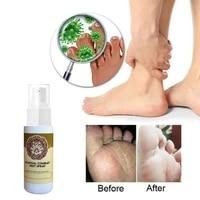60ml feet spray non irritating no sting skin care beriberi itch feet deodorizer for men peeling blisters foot deodorant spray