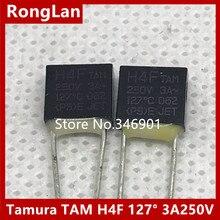 [SA]TAMURA japonia Tamura TAM bezpiecznik termiczny H4F 127 stopni 3A 250v-5 sztuk 50 sztuk/partia 500 sztuk