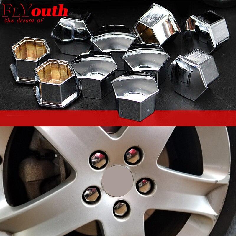 Для Citroen C4L C5 C2 для Peugeot 207 3008 301 307 308 508 16 шт. колпачок для ступицы колеса специальный винт для колеса Защитная крышка