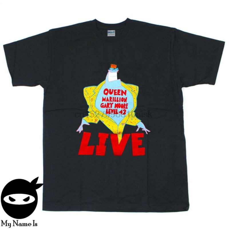 Camiseta de la Reina Vintage camiseta 1986 un tipo de magia Euro Tour 1980s concierto tee