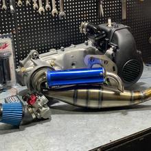 2JA racing engine 70cc BWS50 big bore piston 47mm crankshaft +2mm long stroke 41mm tuning transmission bws 50 full complete kit