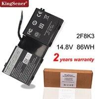 KingSener Korea Zelle 2F8K3 Laptop Batterie fur DELL Alienware 17 18 M17X R5 M18X R1 2F8K3 0KJ2PX KJ2PX G33TT 14 8 V 86WH