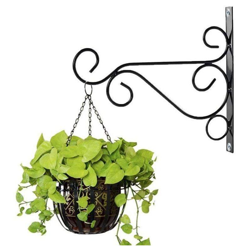 Soporte para plantas colgante de estilo europeo, gancho de hierro para maceta...