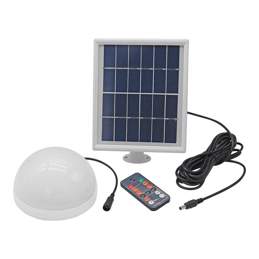 24/33 lámpara LED Solar de techo, luz de jardín con Control remoto, proyecto de riel de luz para patio, pasillo, lámpara LED de pared de 3W/6W