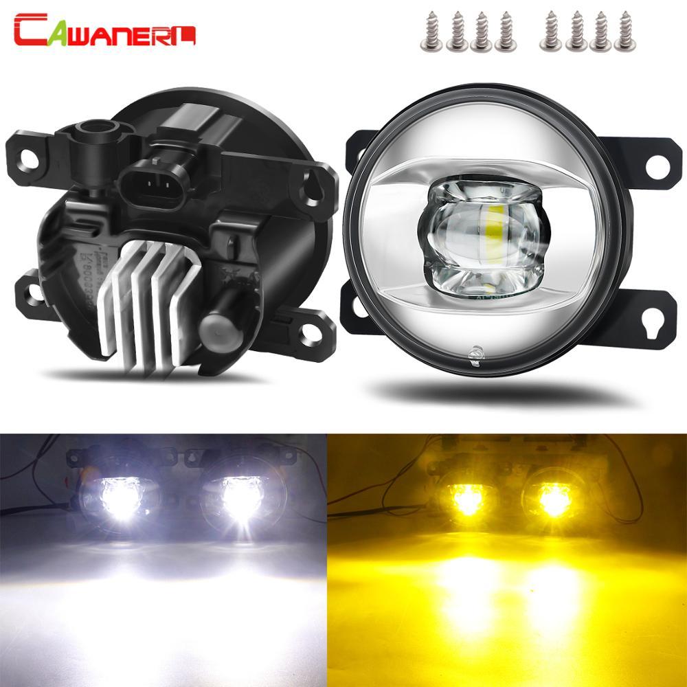 Montaje de luz antiniebla para parachoques delantero de coche, lámpara LED antiniebla DRL 12V para Renault Megane Clio Duster Trafic Scenic Latitude Fluence Thalia