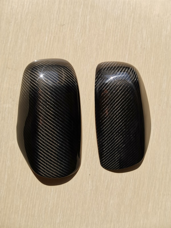 Carbon Fiber Tape-on Mirror Covers for 2004-2007 Subaru Impreza WRX STi