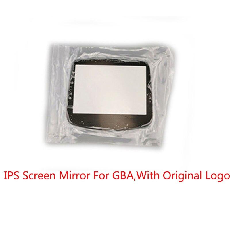 10 níveis de Alto Brilho Espelho Tela IPS LCD Backlight para Nintend GBA Console