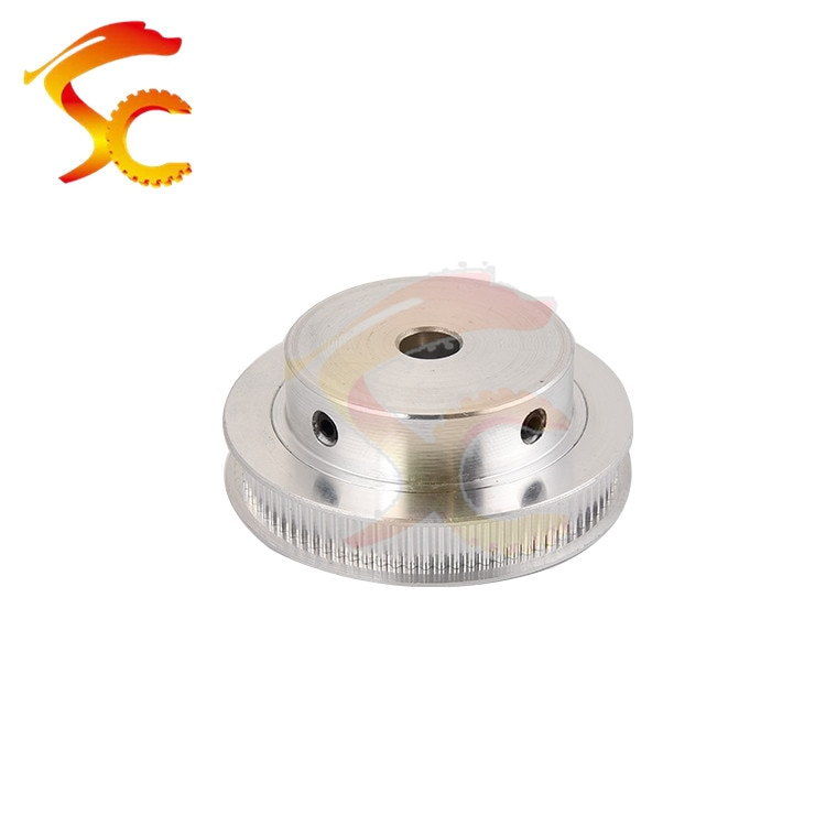 2pcs 3D Printers Parts printer pulley GT2 80 teeth bore 8mm  2GT 80 teeth timing pulley fit for GT2 belt width 6mm