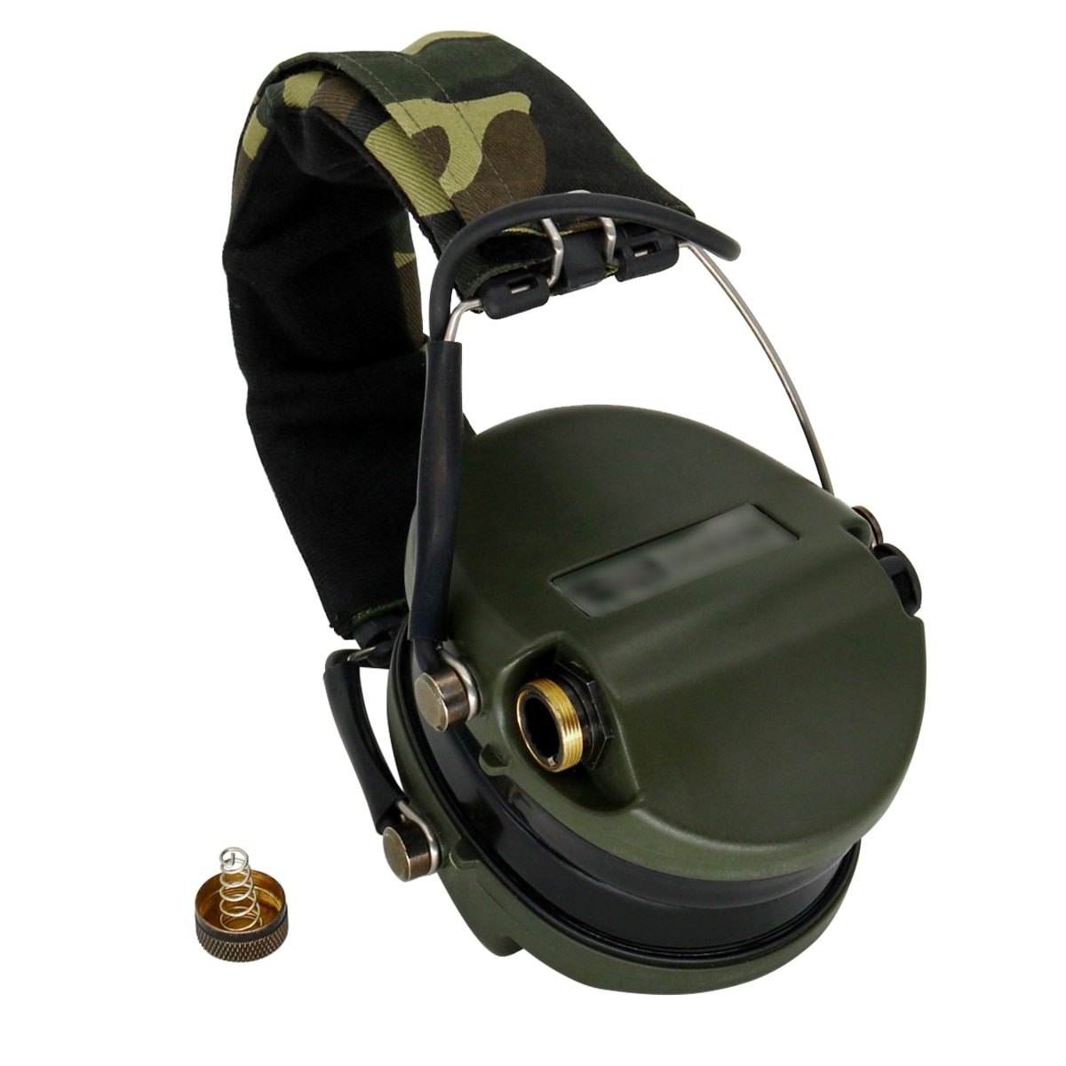 No microphone tactical noise reduction pickup hunting headset protective earmuffs electronic shooting headset FG enlarge