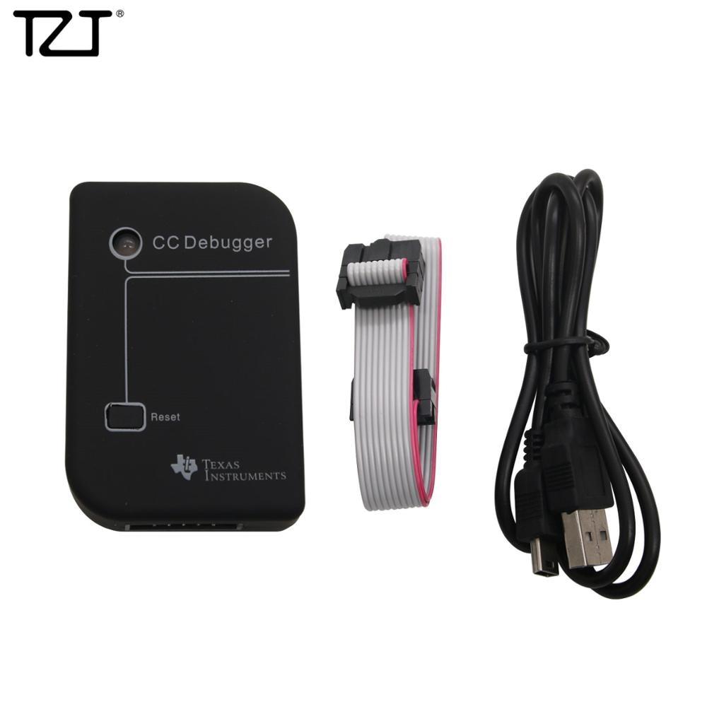 Tzt cc depurador zigbee emulador bluetooth zigbee para cc2530 cc1110