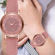 Women Fashion Rhinestones Inlaid Round Dial Analog Display Quartz Wrist Watch Analog Quartz Wrist Wa