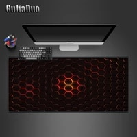 800x400mm large hexagon art mouse pad computer and office pc table desk mat xl notebook non slip mousepad gaming accessories rug