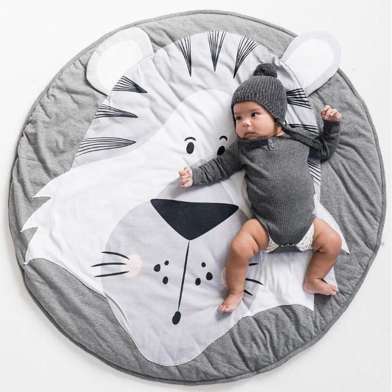 Newborn  Souvenir Baby Photographic Mat Children's Crawling Mat  Cartoon Animal Round Air Conditioner Quilt