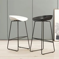 nordic bar chairs wrought iron home high stool living room furniture simple fashion counter chair creative personality bar chair
