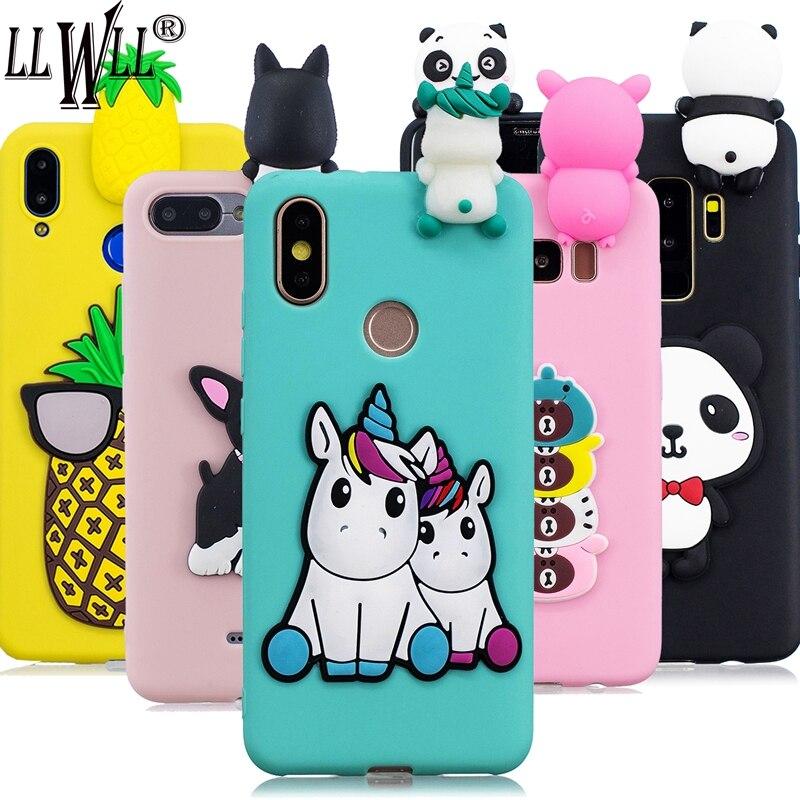 Funda de dibujos animados de unicornio para Huawei P8 Lite 2017 P9 Lite P10 P20 Lite 2019 P30 P40 Pro, funda de silicona para juguetes para Huawei P40 Lite