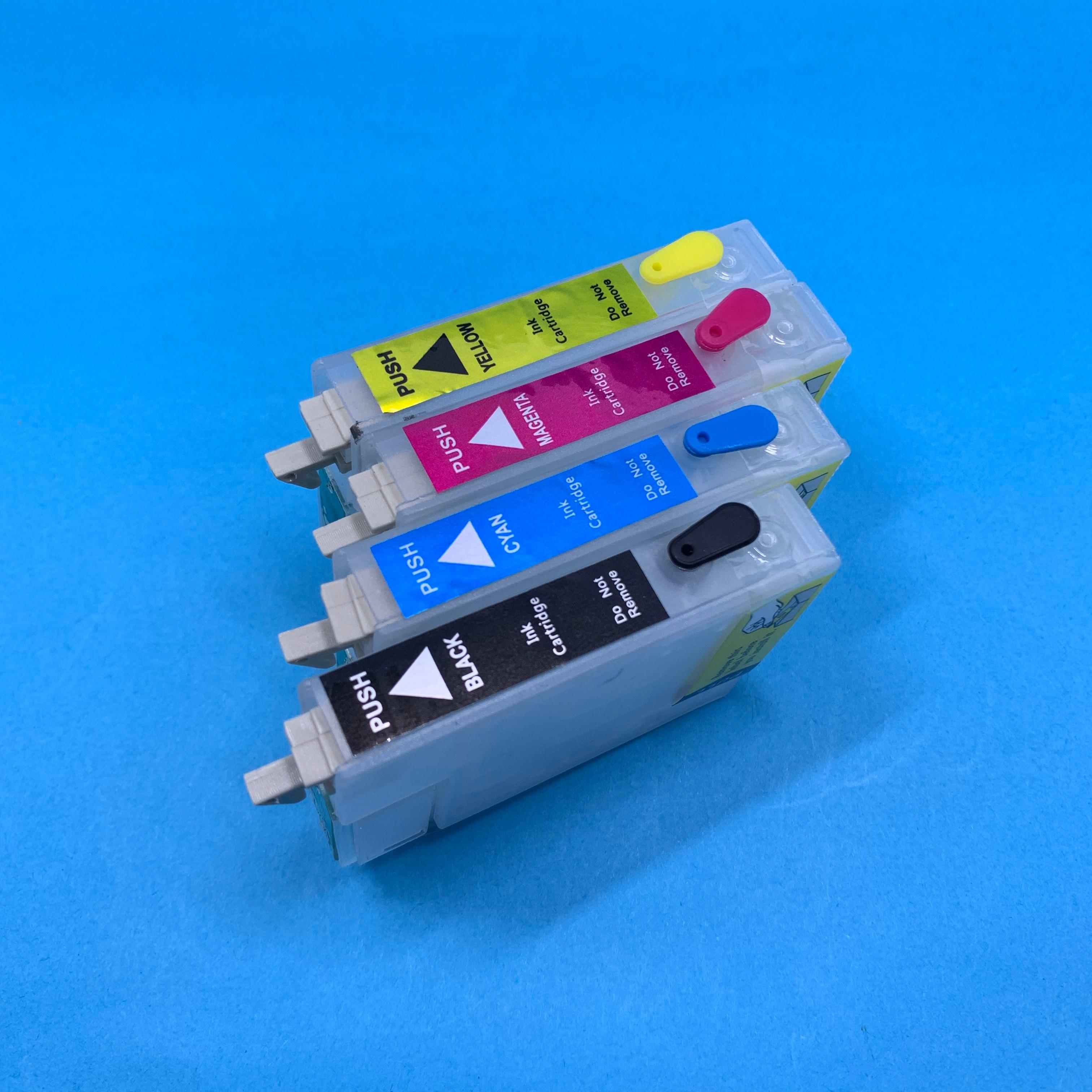 YOTAT cartucho de tinta Recarregáveis T1091 T1092 T1093 T1094 para Epson ME 30/300/ESCRITÓRIO 70/80W /360/510/600F/700FW/1100 (China)