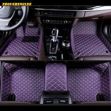 zhoushenglee Custom car floor mat For Citroen DS DS3 DS4 DS5 DS6 DS7 DS4S DS5LS For Dodge Journey auto floor mats