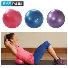 1 pièces BYEPAIN 25cm balle Pilates, Mini balle Anti-éclatement parfait pour le Yoga, lexercice, léquilibre et lentraînement de stabilité