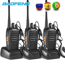3PCS Baofeng BF-888S Radio Bidirezionale BF-888S 6km Walkie Talkie 5W Portatile CB Ham Radio palmare HF Ricetrasmettitore Interfono bf888S