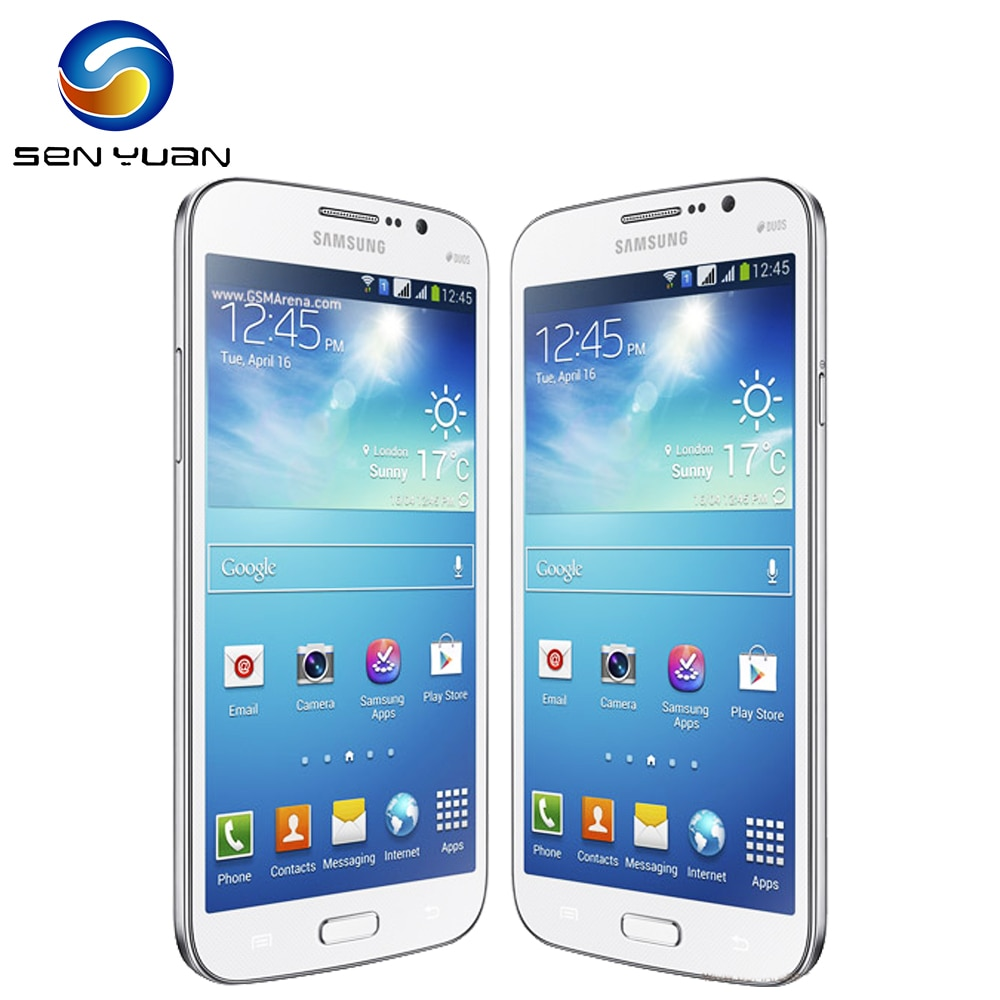 I9152 Original Samsung Galaxy Mega 5,8 I9152 teléfono móvil 8G ROM 1,5G RAM Dual core WIFI GPS 8MP del teléfono celular