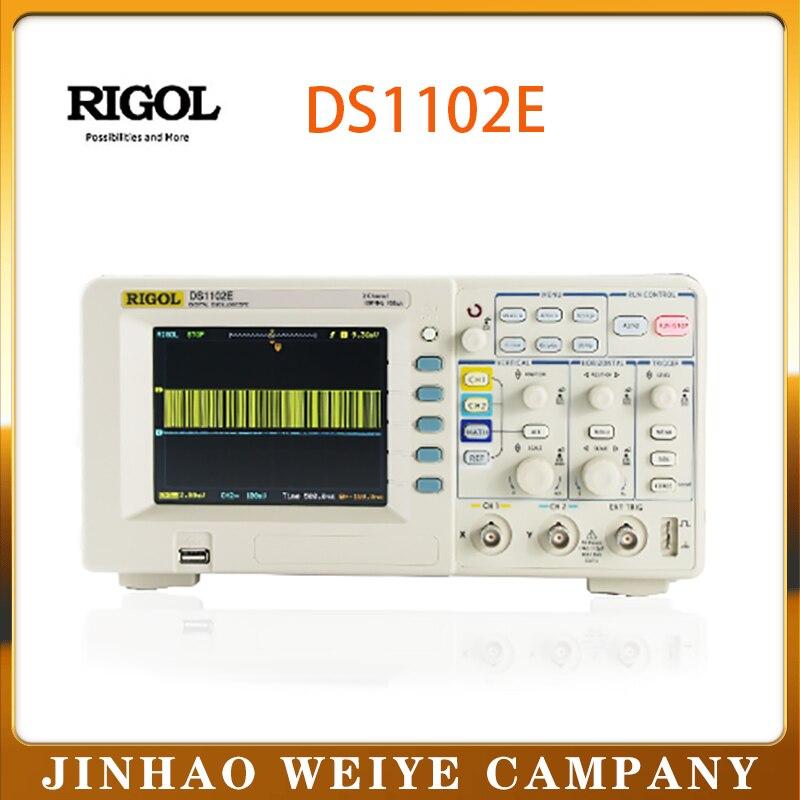 Цифровой осциллограф Rigol DS1102E multinmetro 2 канала analógicos 50 МГц оциллограф Набор сделай сам osciloscópio daniu