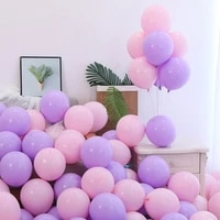 100pcs macarons latex balloons pastel candy event party birthday christmas decoration baby shower balloon decor accessories