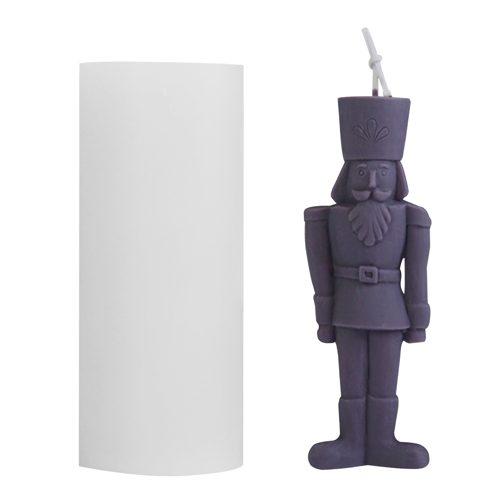 AliExpress - Simplified human form Candle Mold Female Candle Silicone Mold  Nutcracker aromatherapy Shaped Candle Making Wax Plaster Mould