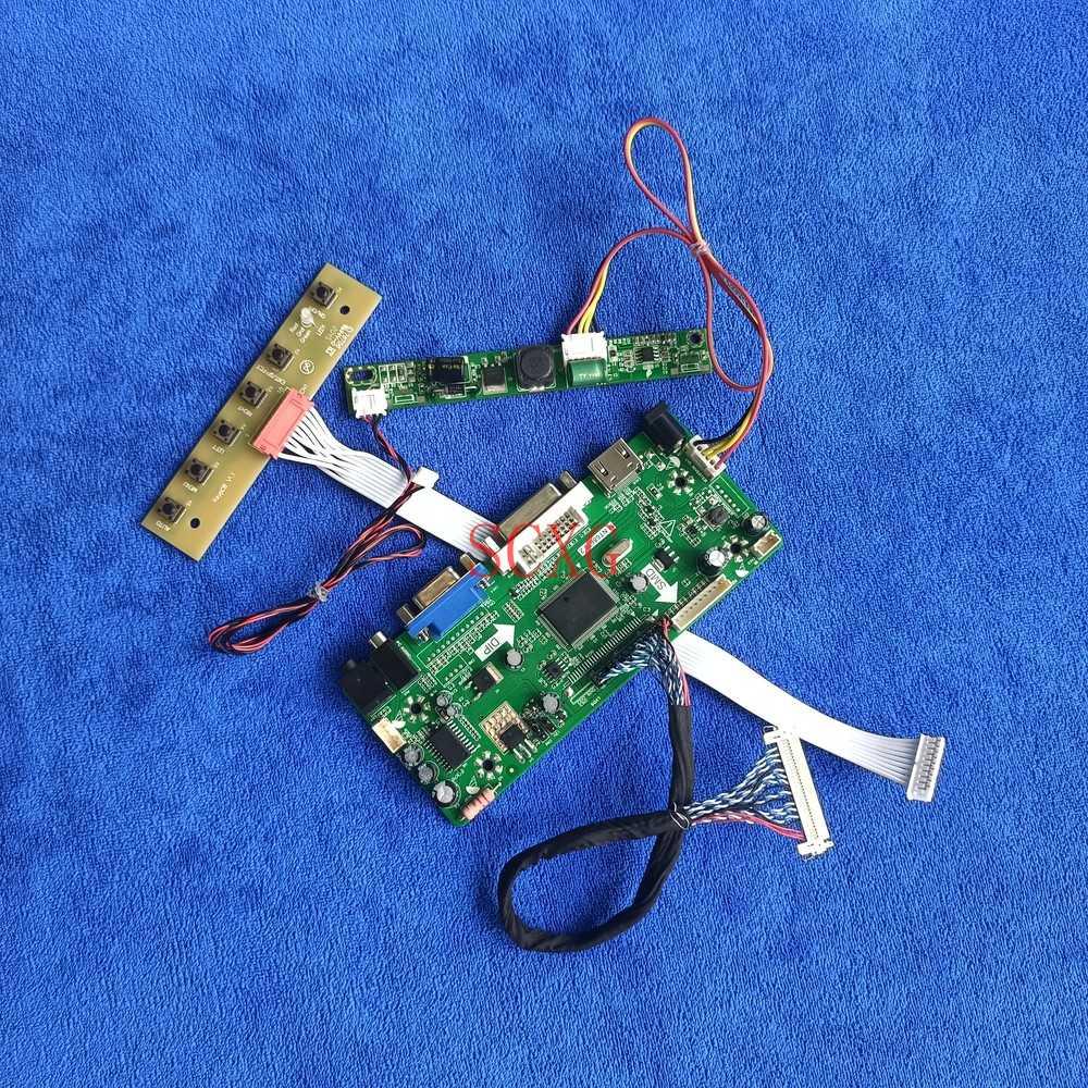 LED/LCD HDMI-متوافق DVI VGA لتقوم بها بنفسك عدة LVDS 30 دبوس ل MT200LW01 V.1/MT200LW02 V.0 M.NT68676 لوحة تحكم عرض 1600*900
