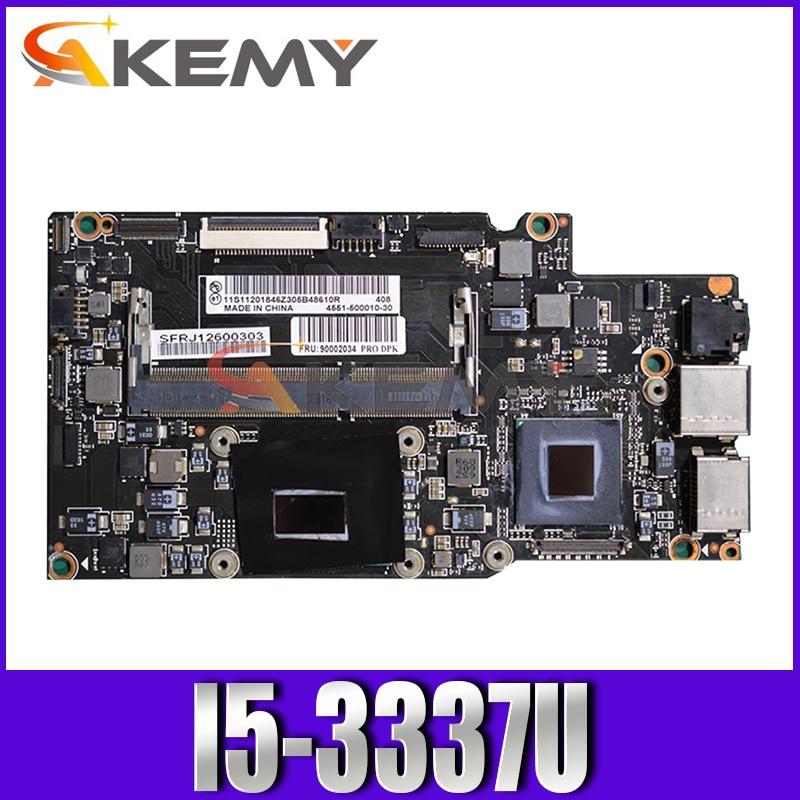 لوحة أم للكمبيوتر المحمول لينوفو يوغا 13 كور SR0XL i5-3337U 11201845 اختبار اللوحة الرئيسية 100%