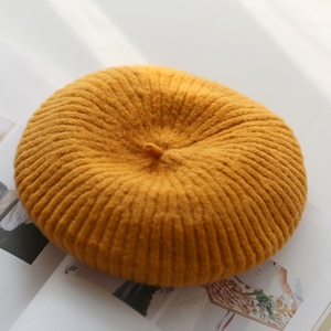 New autumn hat in 2019 winter wool BERET fashion women's high quality Beret