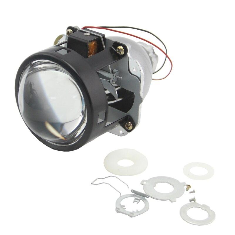 SHUOKE 2,5 pulgadas Bi xenon HID lente del proyector 2 tipos RHD LHD Halo Hella Bixenon coche estilo modificar para d2s d2h bombilla envío gratis