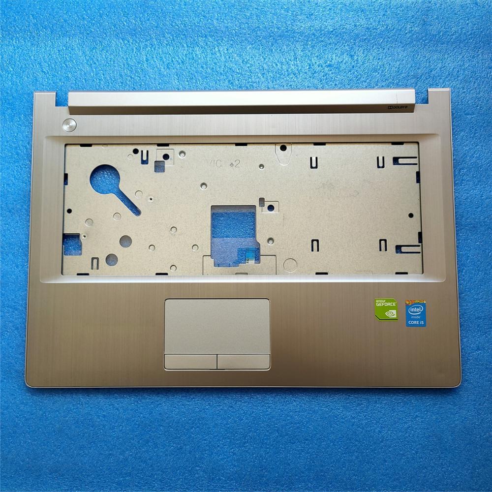 لينوفو G40 G40-30 G40-45 G40-70 G40-80 Z40 Z40-30 Z40-45 Z40-70 Z40-80 العلوي حالة palmrest غطاء الفضة AM0TG000410