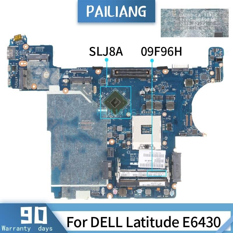 09F96H لديل خط العرض E6430 LA-7781P CN-09F96H SLJ8A اللوحة اللوحة المحمول اختبارها موافق