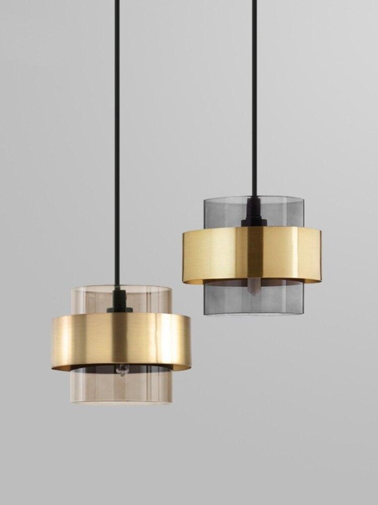 Простой роскошный маленький подвесной светильник, прикроватная лампа для спальни, ресторана, бара, магазина одежды в скандинавском стиле
