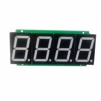 Red 1.8inch 4-bit Digital Tube Display Module 74HC595 Statically Drives 8-segment Digital Tube Modules in Seamless Series
