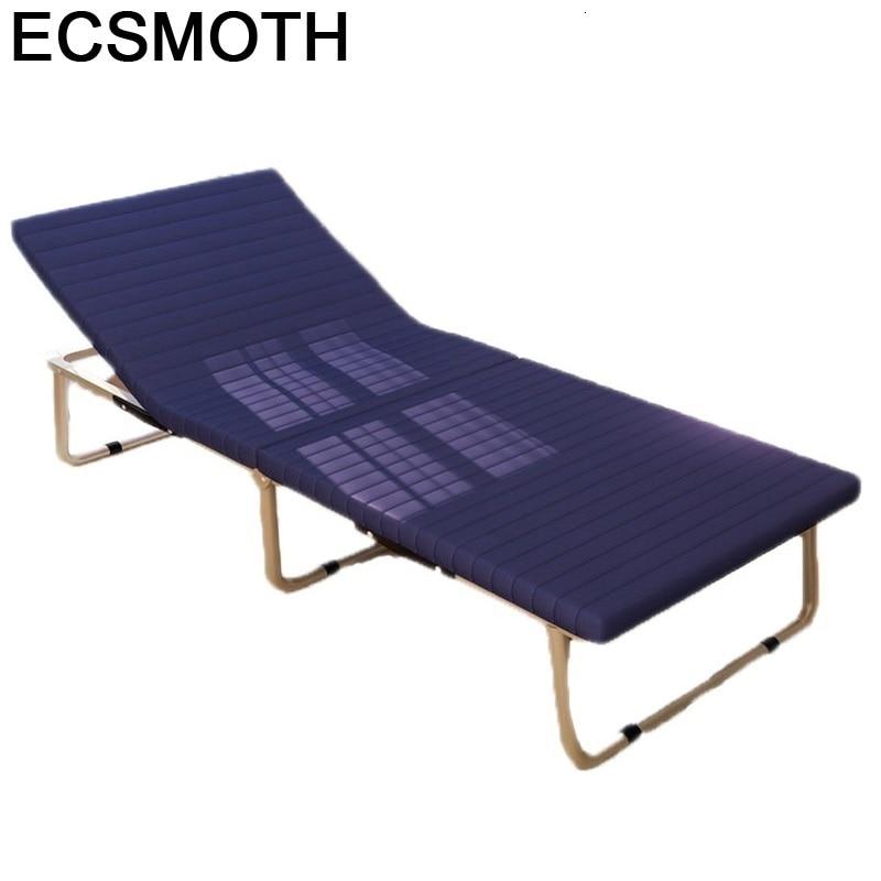 Cama plegable para Patio, muebles De exterior para acampada, Playa, muebles De...
