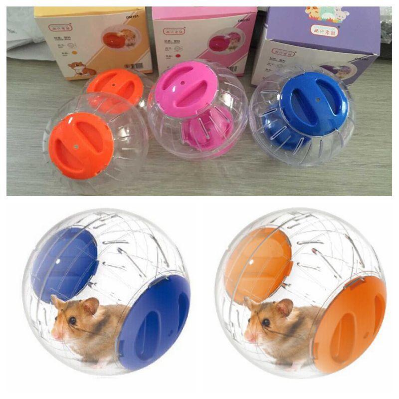 1 Pcs 12CM Run Crystal Ball Pet Supplies Pet Fitness Products Hamster Pet Supplies Running Ball Plas