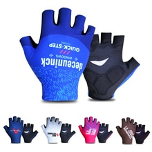 Half Finger Cycling Gloves 2021 Pro Team Summer Breathable Bike Gloves GEL Pad Shockproof Bicycle Sp