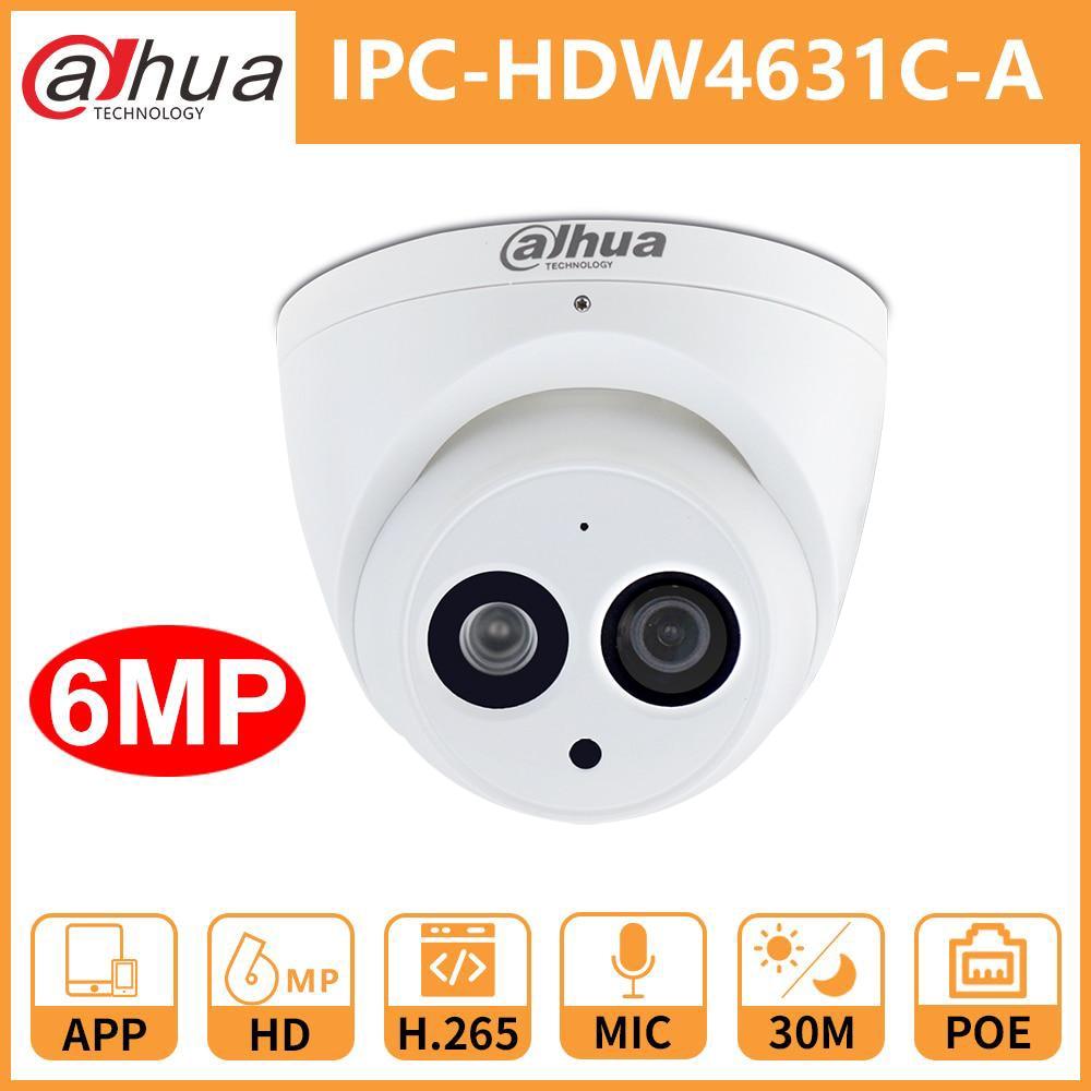 Dahua cámara ip cctv DH IPC-HDW4631C-A micrófono incorporado POE cámara de seguridad...