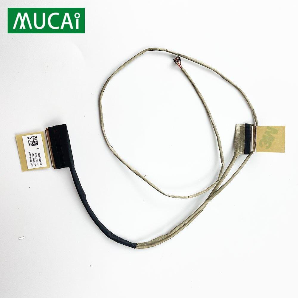 كابل شاشة الفيديو ل ASUS X507 Y5000U Y5000UB8250 X507 محمول LCD LED عرض الشريط كاميرا كابل 1422-02TS0AS 1422-02TT0AS
