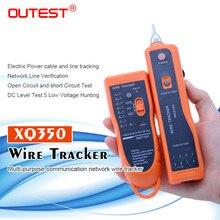 Envío Gratis, rastreador de cables RJ45 RJ11, buscador de cables, cable de red LAN, rastreador de cables eléctricos, rastreador de tóner, xq-350