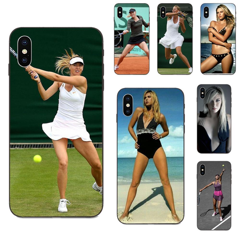 Maria Sharapova chica Sexy para Xiaomi Mi Mix Max nota 2 2S 3 5X 6 6X 8 9 9T SE A1 A2 A3 CC9e Lite jugar Pro F1 suave TPU BONITO CASO