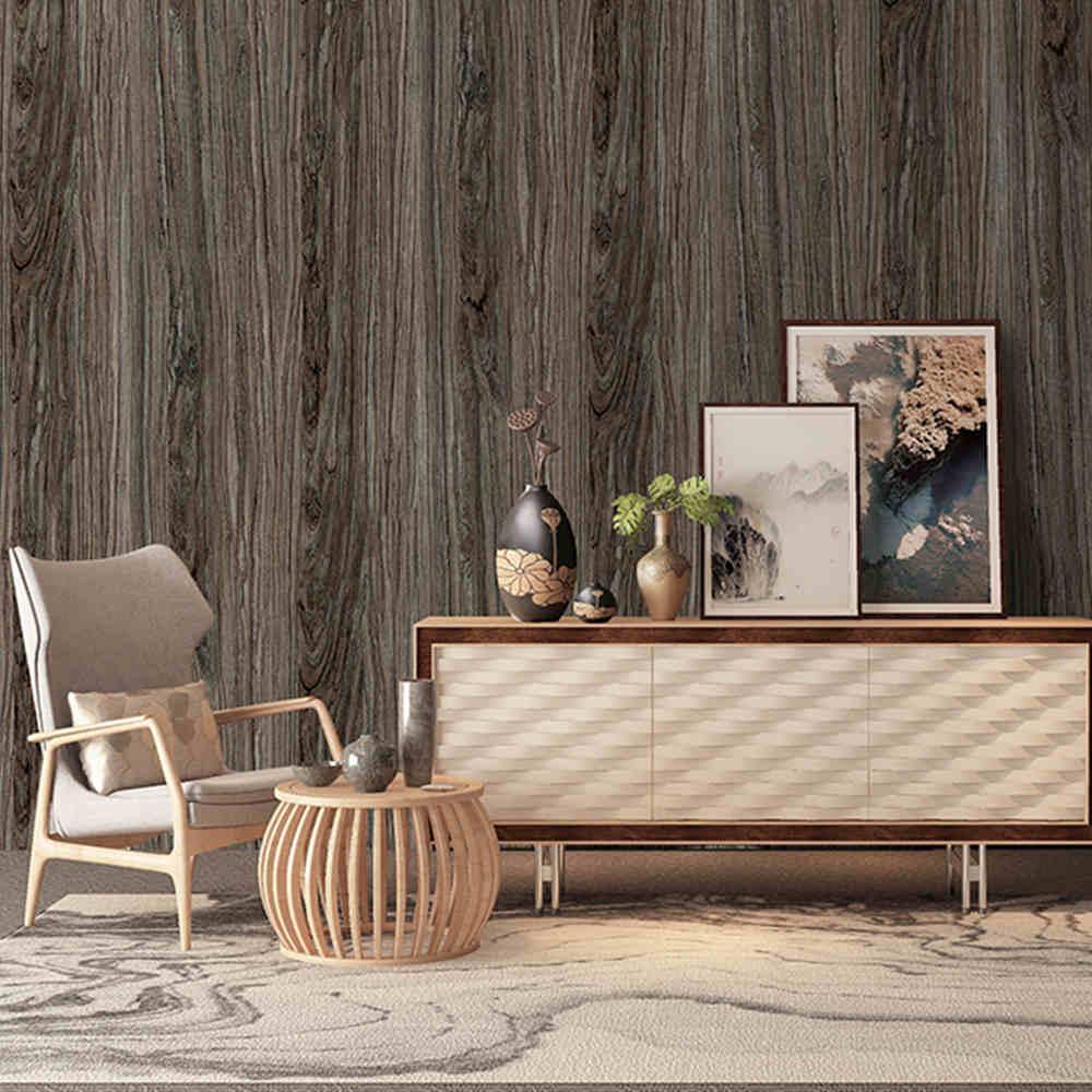 Peel And Stick Wallpaper Vinyl Self Adhesive Film Wood Grain For Furniture Cabinet Decorative Stickers