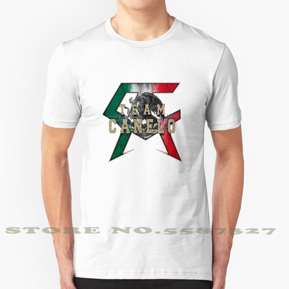 Camiseta con Logo de Canelo Saul Alves Boxer, ropa Vintage a la...