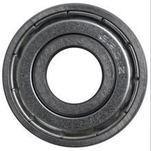 6201Z Diepgroefkogellager, Metalen, 12X32X10 Mm, Verzegeld