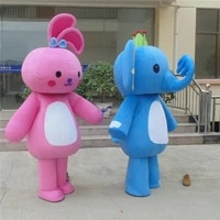 halloween elephant rabbit mascot costume suits cosplay party outfits adults xmas birthday party advertising opening carnival