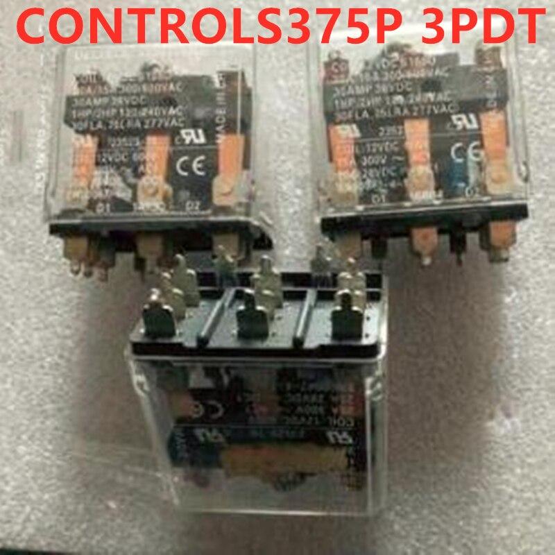 5 قطعة CONTROLS375P 3PDT 12VDC 23523-70 التتابع